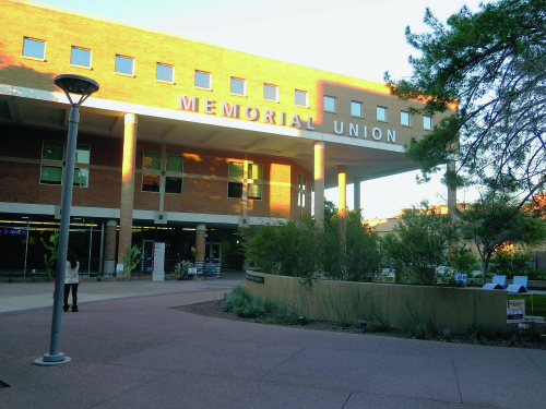 photo of ASU's Undergraduates Student Government is located in the Memorial Union Buildings at the Tempe campus.