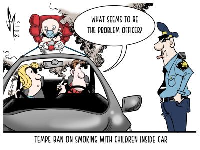 Tempe Smoking Ban Protects Children In Cars Mesa Legend