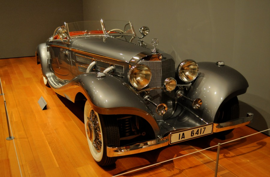 This is the same model as the 1937 Mercedes-Benz 540K that sold for $9.9 million.